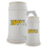 Full Color Decorative Ceramic Mug 22oz-BVU Monogram