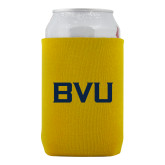 Neoprene Gold Can Holder-BVU Monogram