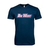 Next Level SoftStyle Navy T Shirt-