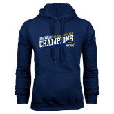Navy Fleece Hoodie-2016 Womens Water Polo - UCSB