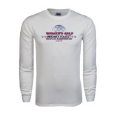 White Long Sleeve T Shirt-Womens Golf Championship 2015