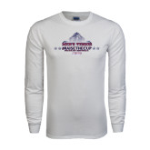 White Long Sleeve T Shirt-Mens Tennis Championship 2015