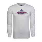 White Long Sleeve T Shirt-Womens Tennis Championship 2015