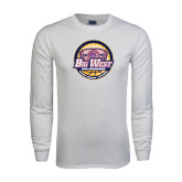 White Long Sleeve T Shirt-Basketball Tournament 2015