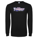 Black Long Sleeve T Shirt-Big West Tournament 2017 Womens Soccer