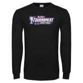 Black Long Sleeve T Shirt-Big West Tournament 2017 Womens Soccer