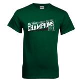 Dark Green T Shirt-2016 Beach Volleyball - Hawaii
