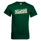 Dark Green T Shirt-2015 Womens Cross Country - Cal Poly
