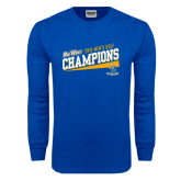 Royal Long Sleeve T Shirt-2016 Mens Golf - UC Riverside