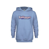 Youth Light Blue Fleece Hoodie-Big West Championships 2017 Cross Country