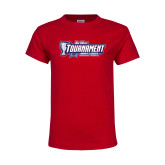 Youth Red T Shirt-Big West Tournament 2017 Womens Soccer