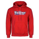 Red Fleece Hoodie-Big West Tournament 2017 Womens Soccer