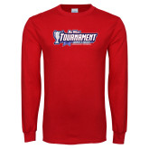 Red Long Sleeve T Shirt-Big West Tournament 2017 Womens Soccer