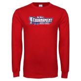 Red Long Sleeve T Shirt-Big West Tournament 2017 Womens Soccer