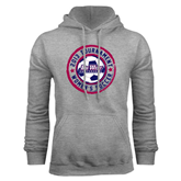 Champion Grey Fleece Hood-Womens Soccer Tournament 2013