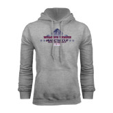 Grey Fleece Hoodie-Womens Tennis Championship 2015