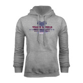 Grey Fleece Hoodie-Track & Field Championship 2015
