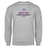 Grey Fleece Crew-Mens Golf Championship 2015