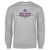 Grey Fleece Crew-Mens Tennis Championship 2015