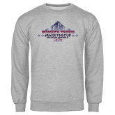 Grey Fleece Crew-Womens Tennis Championship 2015