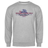 Grey Fleece Crew-Womens Water Polo Championship 2015