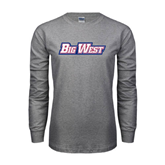 Grey Long Sleeve T Shirt-