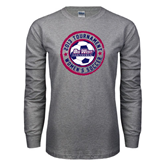 Grey Long Sleeve T-Shirt-Womens Soccer Tournament 2013