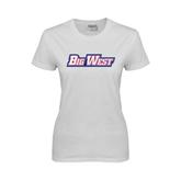 Ladies White T Shirt-