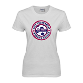 Ladies White T Shirt-Womens Soccer Tournament 2013