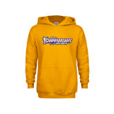 Youth Gold Fleece Hoodie-Big West Championships 2017 Cross Country