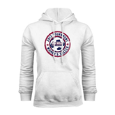 Champion White Fleece Hood-Womens Soccer Tournament 2013