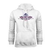 White Fleece Hoodie-Womens Tennis Championship 2015
