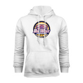 White Fleece Hoodie-Basketball Tournament 2015