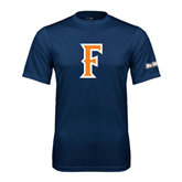 Cal State Fullerton Performance Navy Tee-F