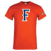 Cal State Fullerton Orange T Shirt-F