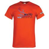 Cal State Fullerton Orange T Shirt-F Circle