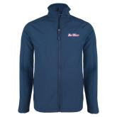 Navy Softshell Jacket-