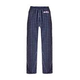 Navy/White Flannel Pajama Pant-