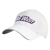 White Heavyweight Twill Pro Style Hat-
