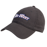 Charcoal Twill Unstructured Low Profile Hat-