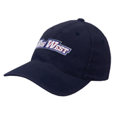 Navy OttoFlex Unstructured Low Profile Hat-