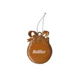 Orange Bulb Ornament-Engraved