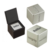 Icon Inspiration Cube-Engraved