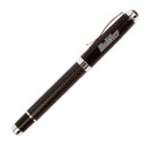 Luna Black Rollerball Pen-Engraved