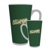 Full Color Latte Mug 17oz-2017 Mens Cross Country Champions - Cal Poly