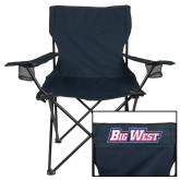 Deluxe Navy Captains Chair-