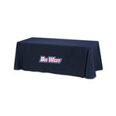 Navy 6 foot Table Throw-