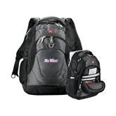 Wenger Swiss Army Tech Charcoal Compu Backpack-