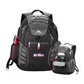 High Sierra Big Wig Black Compu Backpack-