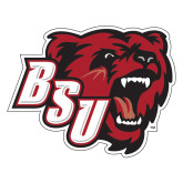 Extra Large Decal-BSU w/ Bear Head, 18 inches wide